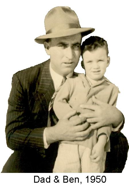 Dad & Ben 1950