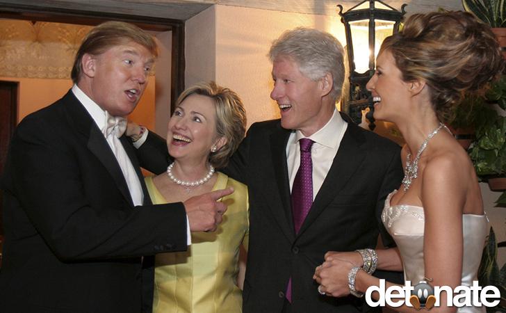 Trump & Clintons