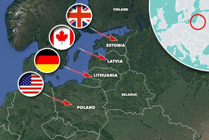 Thousands Of US Troops On Russias Doorstep In Poland Deployment - Us troops near russia map